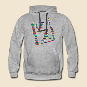 Southwestern Pattern Spray Logo Hoodie - (Assorted Colors)