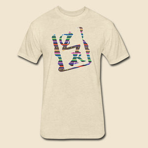 Southwestern Pattern Spray Logo Tee - (Assorted Colors)
