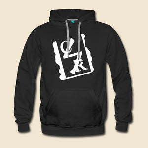 White Spray Logo Hoodie - (Assorted Colors)