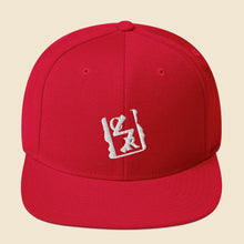 Load image into Gallery viewer, White Spray Logo Snapback - (Assorted Colors)