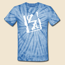 Load image into Gallery viewer, Tie Dye Spray Logo Tee - (Assorted Colors)