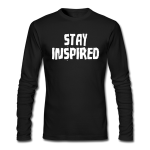 Stay Inspired Long-Sleeve - black