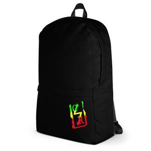 Spray Logo Backpack (Rasta Spray)