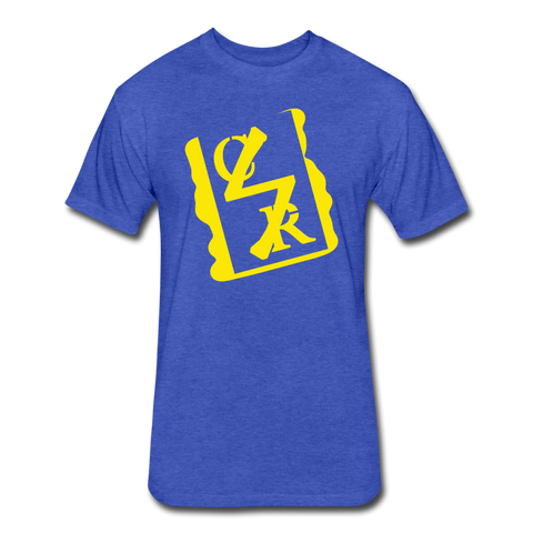 Spray Logo Tee (Royal) - heather royal