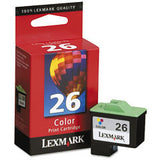 Lexmark #26 Compact Colour Print Cartridge