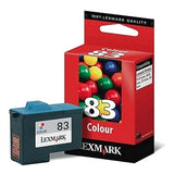 Lexmark Super Hi Res #83 Colour Ink Cartridge