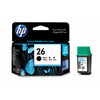 HP No.26 Ink Cartridge - Black