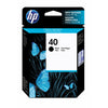 HP No.40 Ink Cartridge - Black