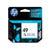 HP 49a Ink Cartridge - Tri Colour