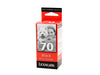 Lexmark No.70 Black Ink Cartridge
