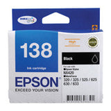 Epson 138 High Yield Ink Cartridges