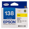 Epson 138 High Yield Ink Cartridge - Yellow