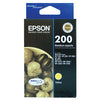 Epson Durabrite Ultra No 200 Ink Cartridge - Yellow