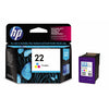 HP No.22 Ink Cartridge - Tri Colour