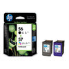 HP No.56 and No.57 Ink Cartridge Combo Pack