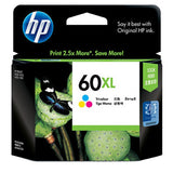 HP 60xl High Yield Ink Cartridge - Tri Colour