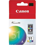 Canon CL51 Chromalife 100 Hi Yield Ink Cartridge-Colour