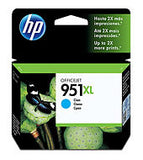 HP 951xl High Yield Ink Cartridges