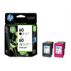 HP No.60 Ink Cartridge Combo Pack