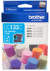 Brother LC133C High Yield Ink Cartridge - Cyan