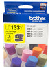 Brother LC133Y High Yield Ink Cartridge - Yellow