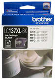 Brother LC137XLBK Super High Yield Ink Cartridge - Black