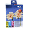 Brother LC39 Ink Cartridge 3 Pack - Colour