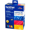 Brother LC67 High Yield Ink Cartridge 3 Pack - Colour