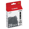 Canon PGI29DGY Ink Cartridge - Dark Grey