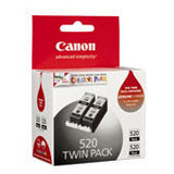 Canon PGI520BK Ink Cartridge Twin Pack - Black
