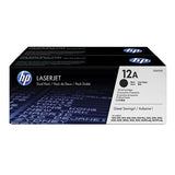 HP LaserJet Q2612A Toner Twin Pack (12A)