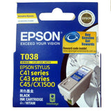 Epson T038 Black Ink Cartridge