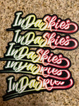 Indaskies Rasta Sticker