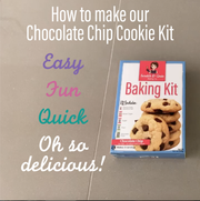 Chocolate Chip Cookie Kit