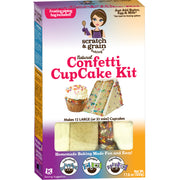 Natural Confetti CupCake Kit