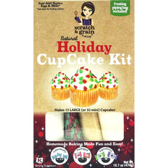 Natural Holiday CupCake Baking Kit