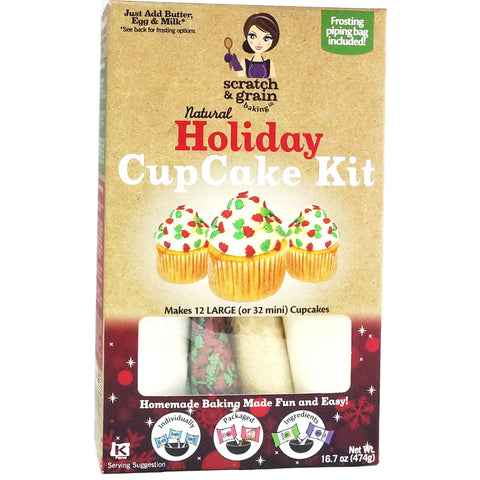 Natural Holiday CupCake Kit