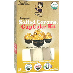 Salted Caramel CupCake Baking Kit