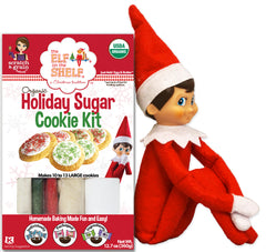 The Elf on the Shelf® Organic Holiday Sugar Cookie Kit