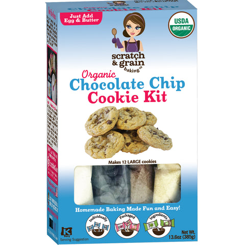Organic Chocolate Chip Cookie Kit