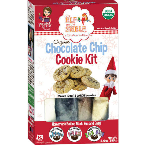The Elf on the Shelf® Organic Chocolate Chip Cookie Kit