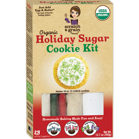 Organic Holiday Sugar Cookie Kit
