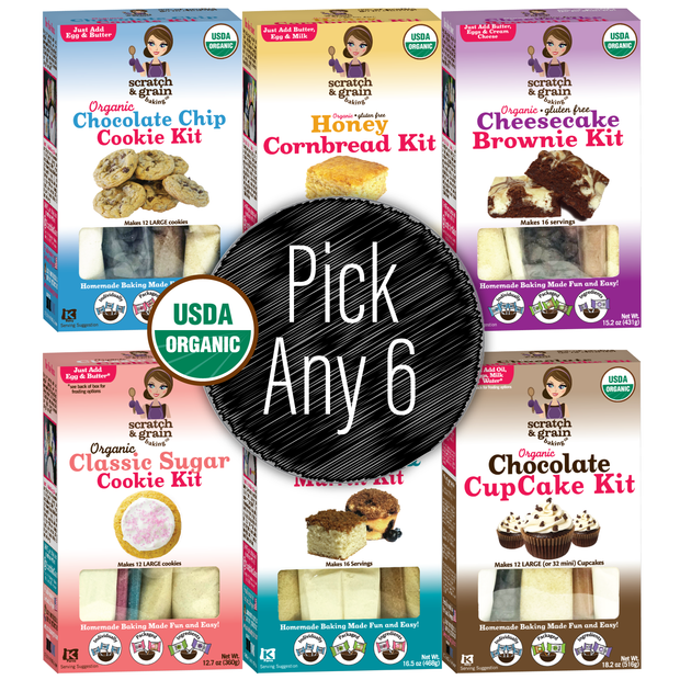 Organic 6-Pack: Pick Your Six (Great Value!)