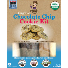 ORGANIC Chocolate Chip Cookie Kit Party Pack Size (30oz)