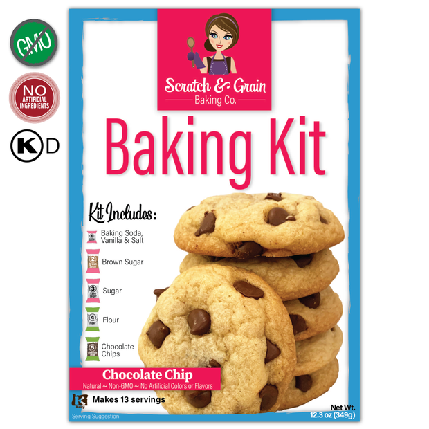 Shark Tank Chocolate Chip Baking Kit