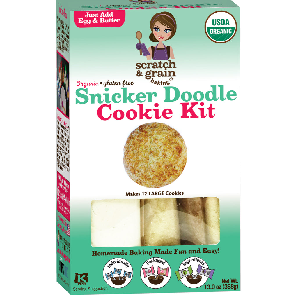 Organic Gluten-Free Snicker Doodle Cookie Kit