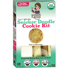 3-Pack Gluten-Free Variety: Honey Cornbread, Cheesecake Brownie & Snicker Doodle Cookie