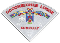 "Lodge 104 ""Faithfully"" Pie Patch"
