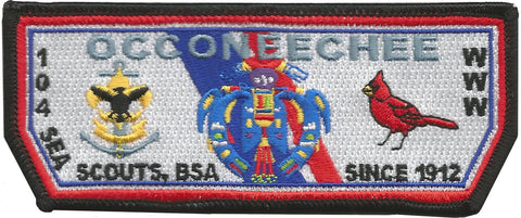 NEW Occoneechee Lodge Sea Scout Flap