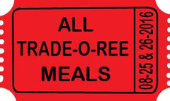 2017 Trade-O-Ree Meal Ticket - ALL MEALS
